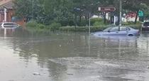 Inundatii la Cernavoda