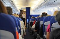 Interiorul avionului