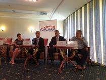 AmCham România - imagine din timpul evenimentului