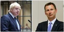 Boris Johnson si Jeremy Hunt