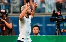 Kun Aguero, gol pentru Argentina