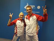 Andreea Bogati si Dacian Barna