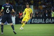 Dragos Nedelcu, in meciul cu Franta