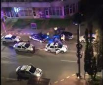 Sofer prins de politisti dupa o urmarire prin Suceava