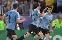 Edinson Cavani, decisiv pentru Uruguay