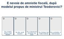 Sondaj amnistie fiscala