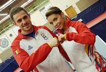 Ovidiu Ionescu si Bernadette Szocs