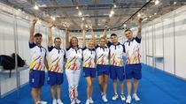 Romania, medalie de bronz la aerobica, grup la Jocurile Europene