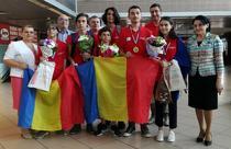 Sase medalii au obtinut elevii romani