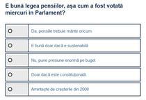 Sondaj Legea pensiilor