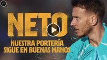Neto, noul portar al Barcelonei