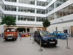 Dacia Estafette, Logan-ul papal si Dacia 1100 expuse la noul sediu Renault