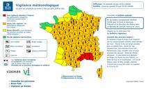 Cod rosu si temperaturi exceptionale in Franta