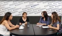 Actorii Marius Manole si Maria Obretin in studioul HotNews