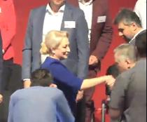 Viorica Dancila la congresul PSD