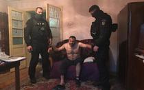 Marcel Ionel Lepa la momentul capturarii
