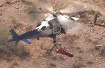 Salvare cu elicopterul in SUA