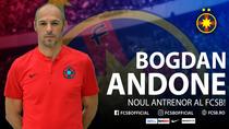 Bogdan Andone, noul antrenor FCSB