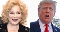 Bette Midler si Donald Trump
