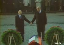 Mitterrand si Kohl la Verdun