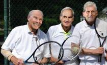 Nadal, Federer si Djokovic si gluma zilei