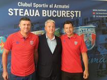 Daniel Oprita (stanga), noul antrenor al CSA Steaua