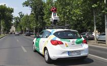 Masina Google Street View in Romania