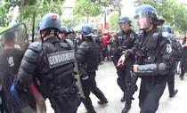 Tensiuni la Paris dupa parada de 14 iulie