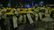 Manifestanti Hong Kong