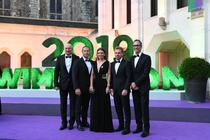 Simona Halep si echipa sa la Dineul Campionilor de la Wimbledon