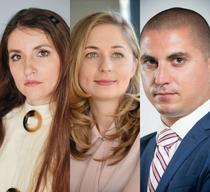 Silvia Axinescu, Luiza Ionescu, Adrian Ifrim