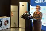 Gratiela Gavrilescu vorbind despre Rabla pentru electrocasnice