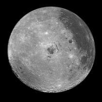 Emisfera vestica a Lunii