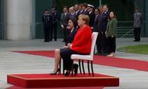 Angela Merkel si Maia Sandu
