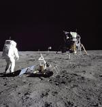 Buzz Aldrin pe Luna
