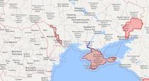 Zonele controlate de rusi in Ucraina