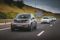 BMW i3 in caravana #ElectricRomania