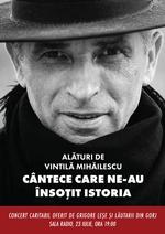 Concert caritabil Vintila Mihailescu