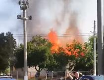 Incendiu Movila Miresii