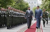Presedintii autoproclamatelor republici populare Donetk si Luhansk sarbatoresc 5 ani de la crearea lor