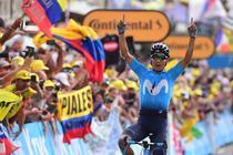 Nairo Quintana, castigatorul etapei a 18-a din Turul Frantei
