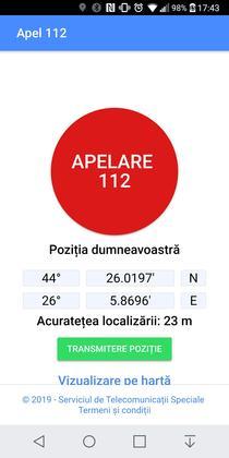Aplicatia Apel 112