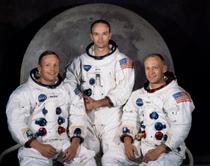 Încă sunt mai celebri decât miliardarii: Armstrong, Collins, Aldrin