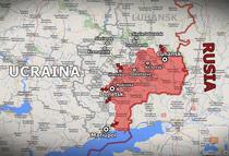 Teritoriile ocupate de rusi in estul Ucrainei