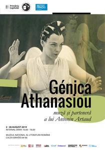 Expozitie: Génica Athanasiou: muză și parteneră a lui Antonin Artaud