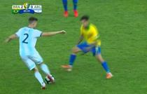 Brazilia vs Argentina, driblingul zilei