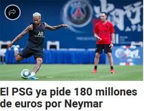 PSG si suma ceruta pentru transferul lui Neymar