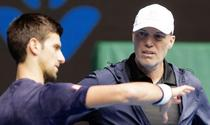 Novak Djokovic si Gebhard Phil Gritsch