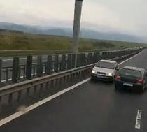 Pe contrasens pe autostrada