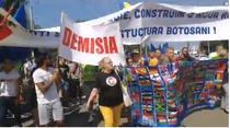 protest Botosani
